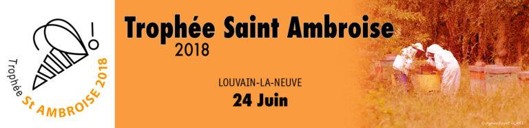 Trophée Saint Ambroise 2018